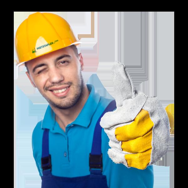 Lagerarbeiter von mietstapler.com
